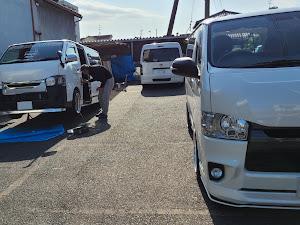 ハイエース TRH200V SUPER GL 2018年式のカスタム事例画像 keiji@黒バンパー愛好会さんの2021年05月05日20:31の投稿
