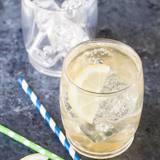 Vodka and Elderflower Lemonade.