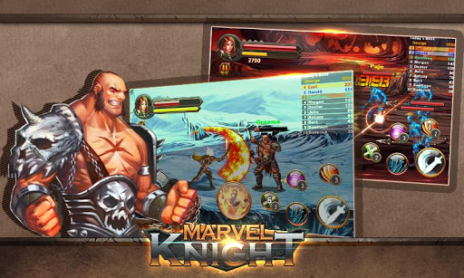 MARVEL knight-Nonstop Fighting  screenshots 1