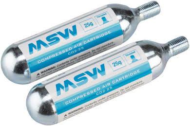 MSW CO2 Cartridge 25g, Jar of 20 alternate image 0