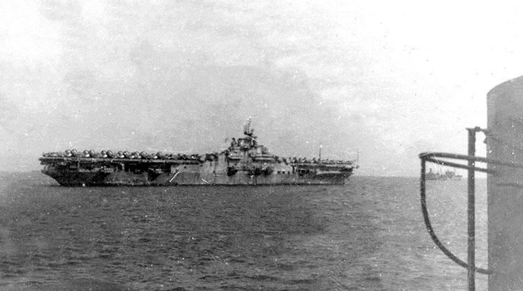 USS Hancock, Tokyo Bay, 1945