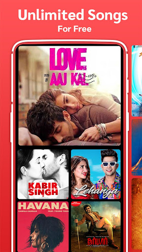 Gaana Music Hindi Tamil Telugu Songs Free MP3 App screenshot 1