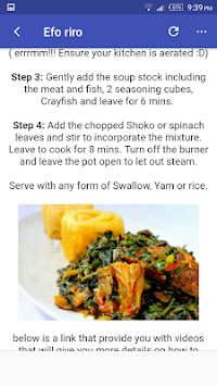 Download nigerian food recipes by adamsdut apk latest version app nigerian food recipes by adamsdut poster forumfinder Image collections
