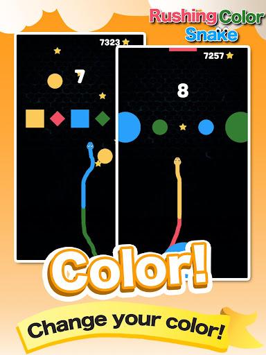 Rushing Color Snake-Super Fun Speed Leisure Games screenshot 5