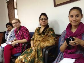 Photo: 4.2.14 Jagori, India mtg