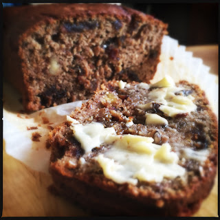 Banana and Date Bread (gluten and refined sugar free)