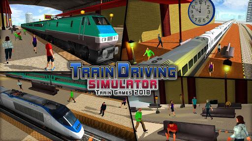 train driving simulator 2020: new train games screenshot 3
