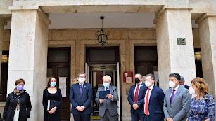 Manifiesto por el Día Internacional de la Mujer en la Subdelegación del Gobierno en Almería.