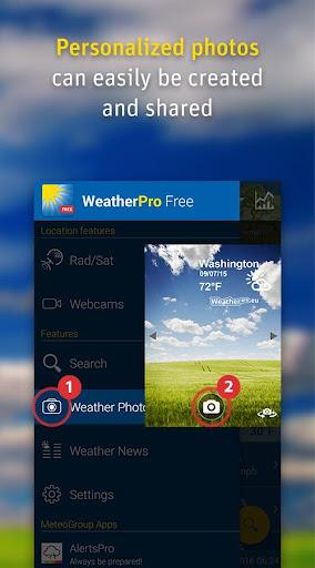 WeatherPro Free  screenshots 5