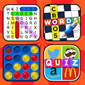 Puzzle book - Words & Number Games icon
