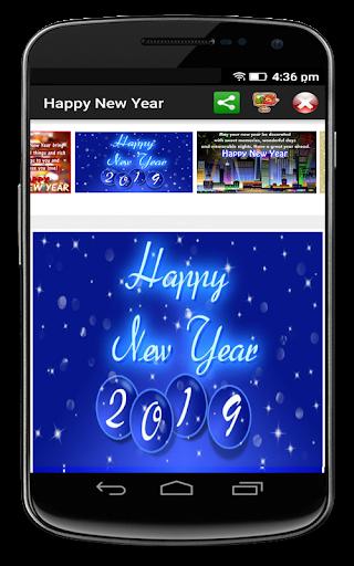 Happy New Year 2019 Greetings 9.0 screenshots 16