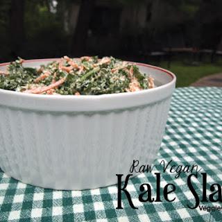 Raw Kale Slaw