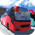 Coach Bus Parking 3D icon