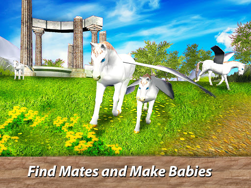 ud83eudd84ud83cudf08u2764ufe0f Pegasus Simulator: Flying ud83dudc0e Horse Survival 1.1 screenshots 7