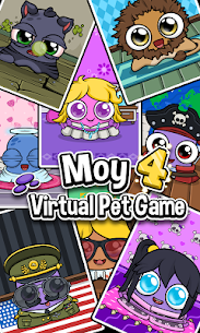 Moy 4 🐙 Virtual Pet Game 7
