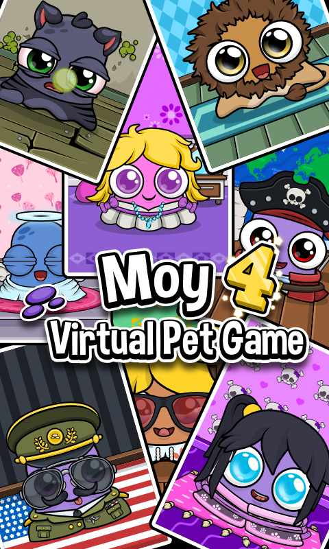 Moy 4 🐙 Virtual Pet Game- screenshot
