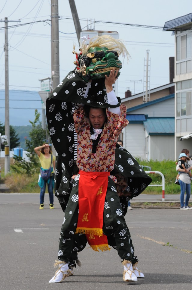 獅子舞(2)
