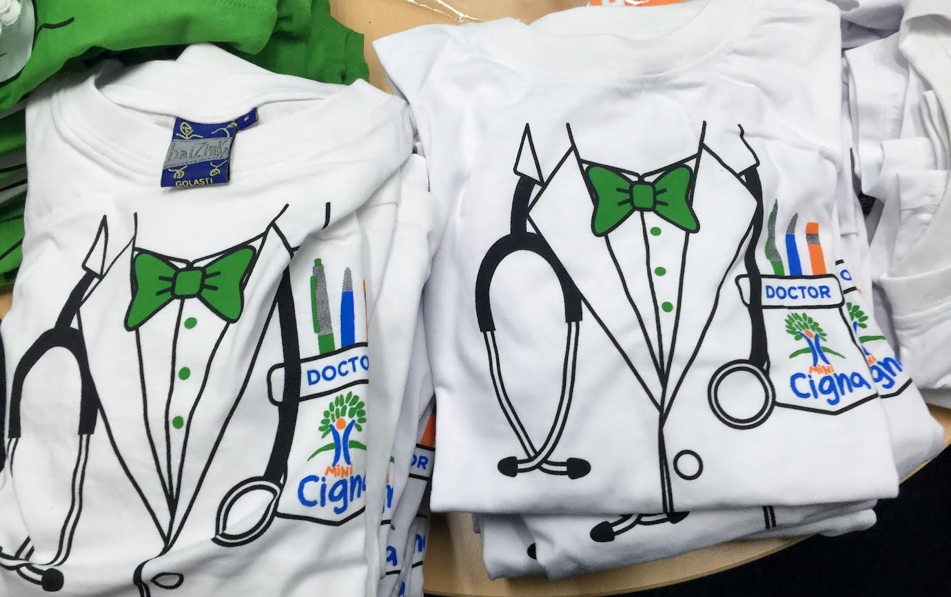 camisetas médico talleres niños cigna 2015