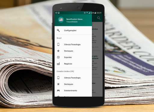 Newtification News Pro app for Android screenshot