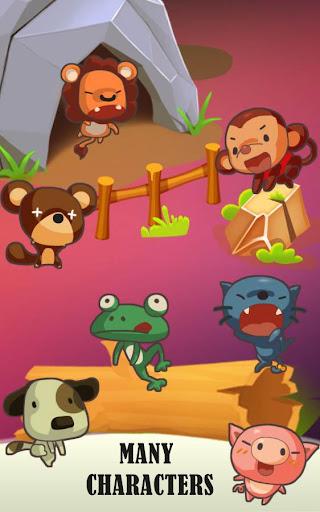 Télécharger Appuyez sur Tap Run - Animal Dash APK MOD (Astuce) screenshots 1