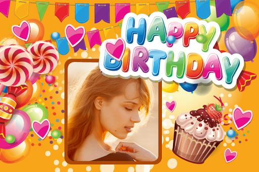 Birthday Photo Frame Collage