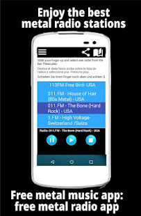 Free metal music app: free metal radio app 2