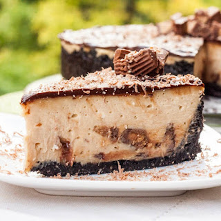 Reeses Peanut Butter Cheesecake and my Travel Plans Revealed