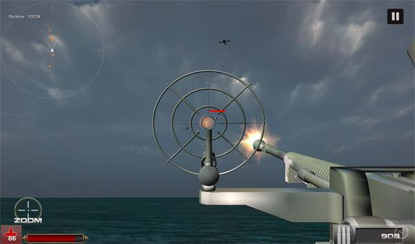 Navy Battleship Survival War- screenshot