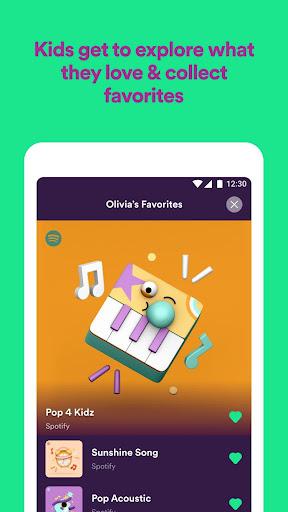 Spotify Kids screenshot 4