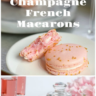 Pink Champagne Macarons.