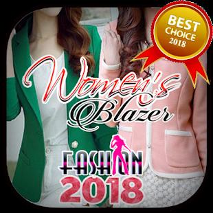 Women's Blazer Fashion Trends 2018 - náhled