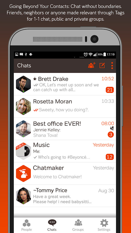 Chatmaker – Simply Connect- screenshot
