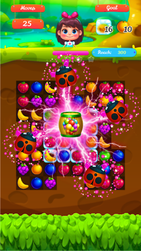 Télécharger Gratuit Fruits Forest : Master Match 3 Puzzle  APK MOD (Astuce) screenshots 3