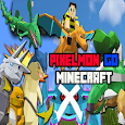 Mod Pixelmon go for minecraft