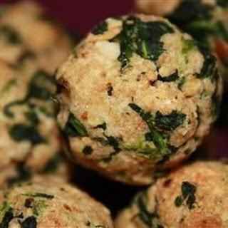 Parmesan Spinach Balls.