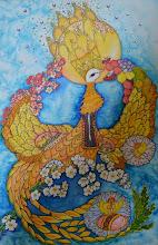 Photo: Вышиванка, 52х80, Холодный батик