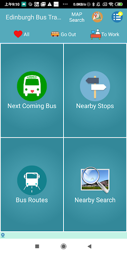 Edinburgh Bus Tracker screenshots 1