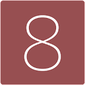 카카오톡테마 - 심플, iOS8스타일(Marsala)