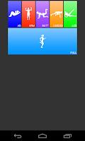 Screenshot of Daily Workouts FREE