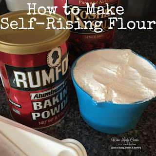 How to Make Self-Rising Flour Recipe