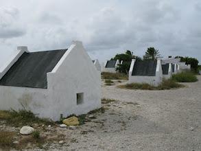 Photo: slave huts near the salt pier