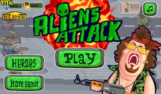 Aliens Attack- screenshot thumbnail