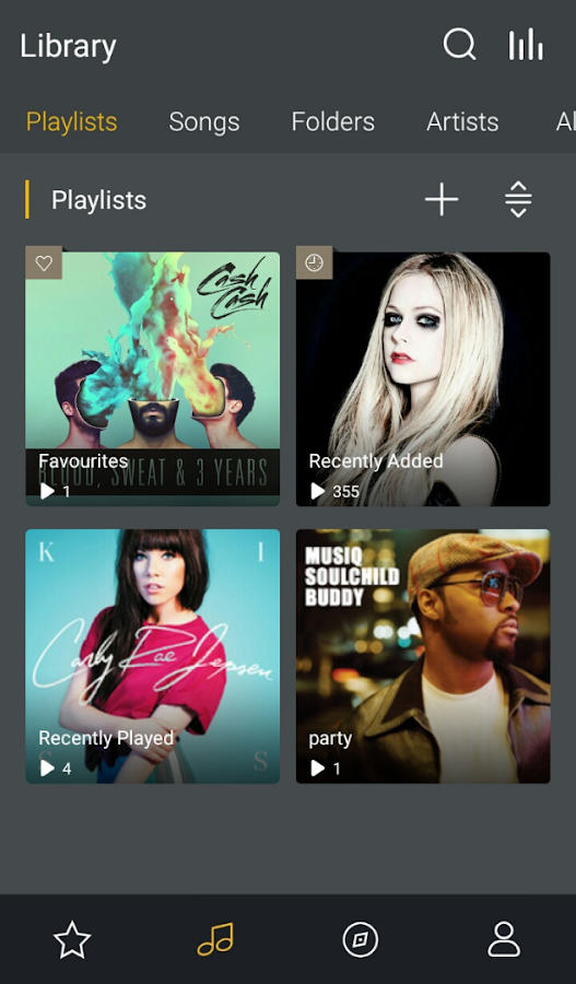 GO Music PLUS - Free Music, Themes, MP3 Player- screenshot