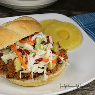 Slow Cooker Sweet Sriracha Pulled Pork.