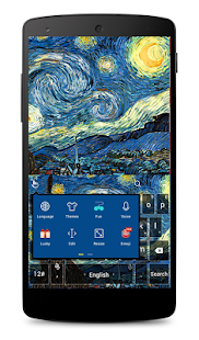 TouchPal Starry Night Keyboard moded apk - Download latest