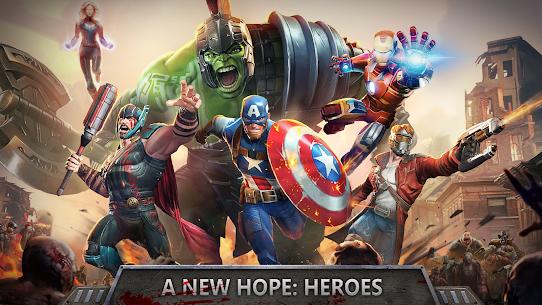 Avengers Wars: Heroes VS Zombies Mod Apk [Unlimited Money] 4
