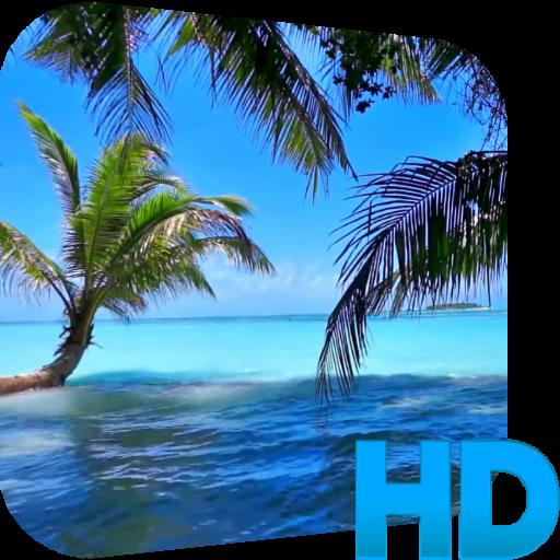 个人化のビーチ動画壁紙 LOGO-記事Game
