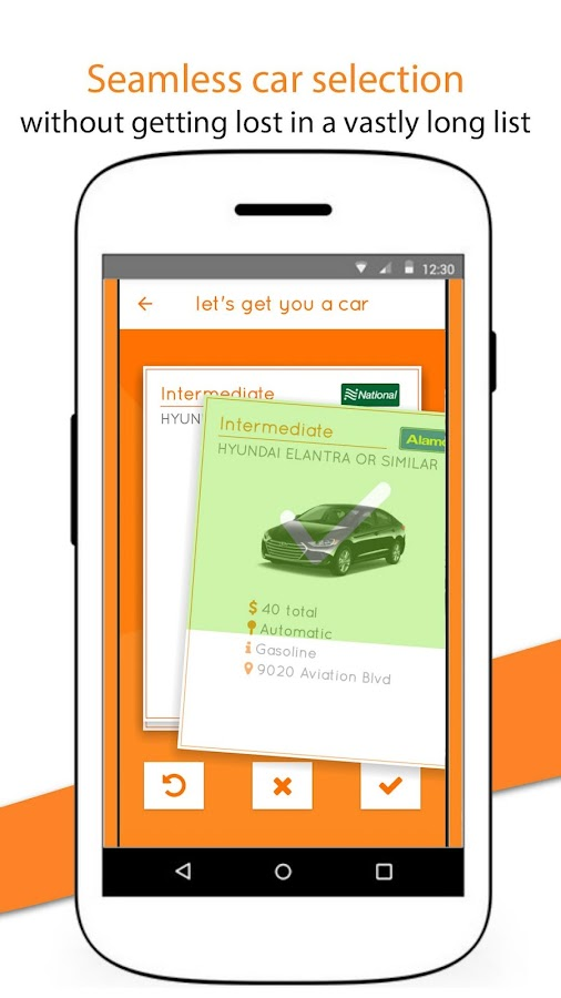 Carla - Rent a car comparing car rental companies- screenshot