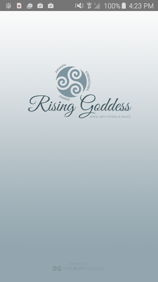 Rising Goddess Fitness- screenshot