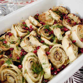 Roasted Fennel with Parmesan.